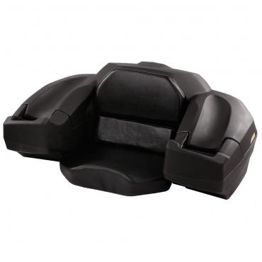 Kufer z siedzeniem na bagażnik SHARK ATV Topcase Black, Czarny 200 litrów