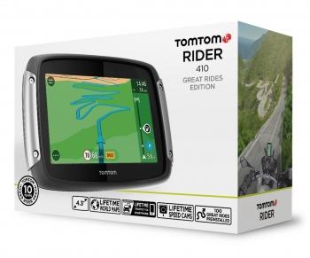 Nawigacja motocyklowa TOMTOM Rider 410 GREAT RIDES EDITION