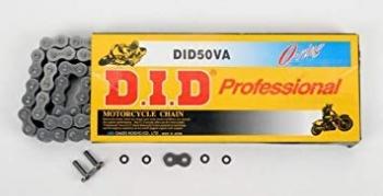 Łańcuch DID50(530) VA 112 ogniw (O-ring, wzmocniony)